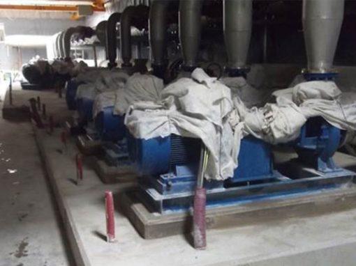 Red de reutilización de 50 km y bombeo de Agua Reutilizada 750.000W