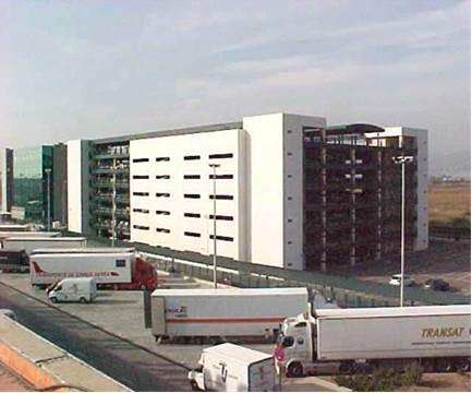 Aparcamiento Centro de Carga del Aeropuerto de Barcelona