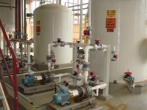 ERCROS Chlorine Production Plants
