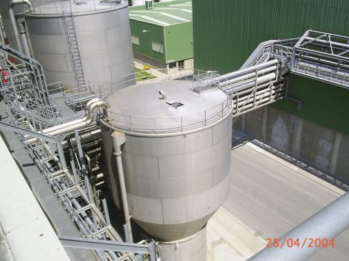 50MW SAICA Combined Cycles Plant