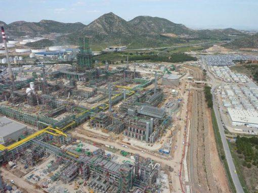 Planta producción de Hidrógeno 121,000 y 66,700 Nm3/h