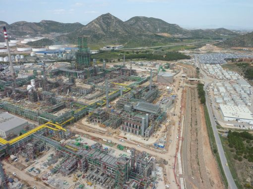 Hydrogen production plant 121,000 and 66,700 Nm3/h