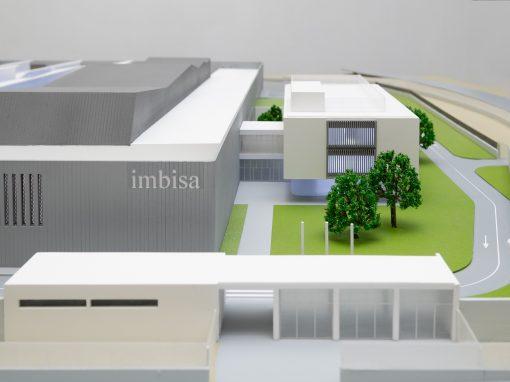 Planta de fabricación de billetes para IMBISA, Madrid
