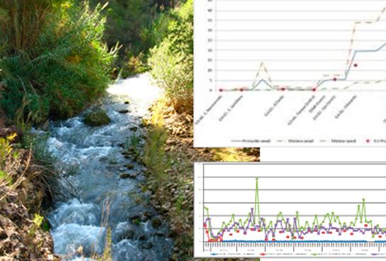 Simulación de Calidad Fisicoquímica en ríos y de estudios de Impress