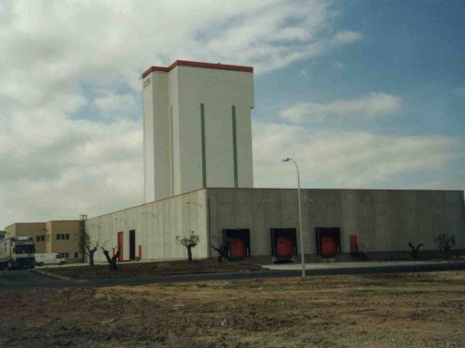 Industrial mortar factory OPTIROC Yeles, Toledo